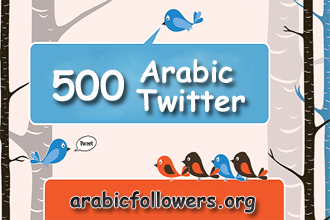 Buy 500 Arabic Twitter Followers